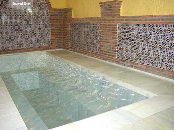 Baño Arabe En Granada:baños arabes de la casa rural Cuevas hammam abuelo jose