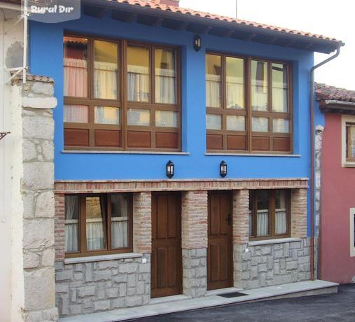 Casa rural apartamentos rurales marrubiu llanes asturias - Fachadas casas rurales ...