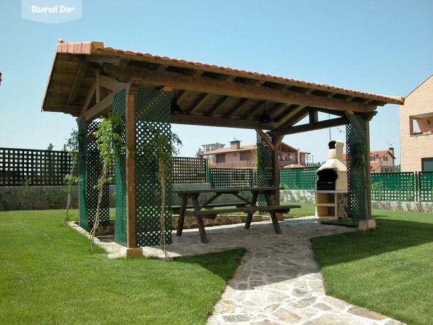 Casa rural epona rural garray soria - Barbacoa prefabricada precio ...