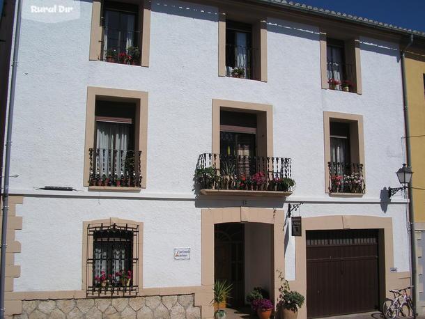 Casa rural casa la muntanya benimantell alicante - Fachadas casas de pueblo ...