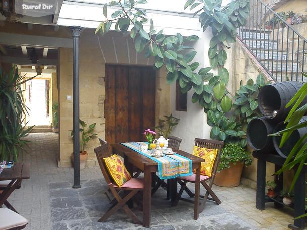 Casa rural apartamentos el patio andaluz jerez de la - Patios rurales ...
